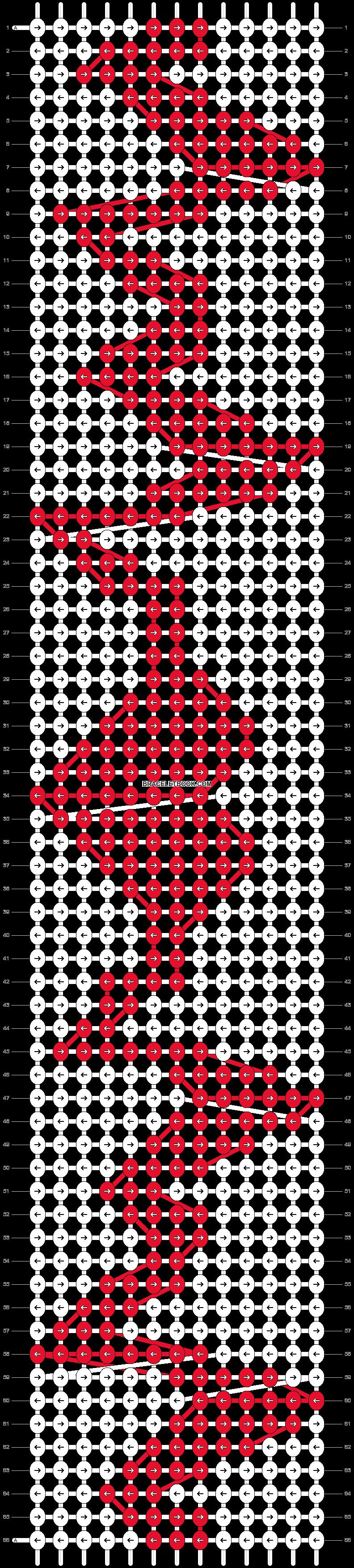 Alpha pattern #11522 pattern