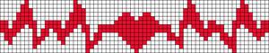 Alpha Friendship Bracelet Pattern #11522