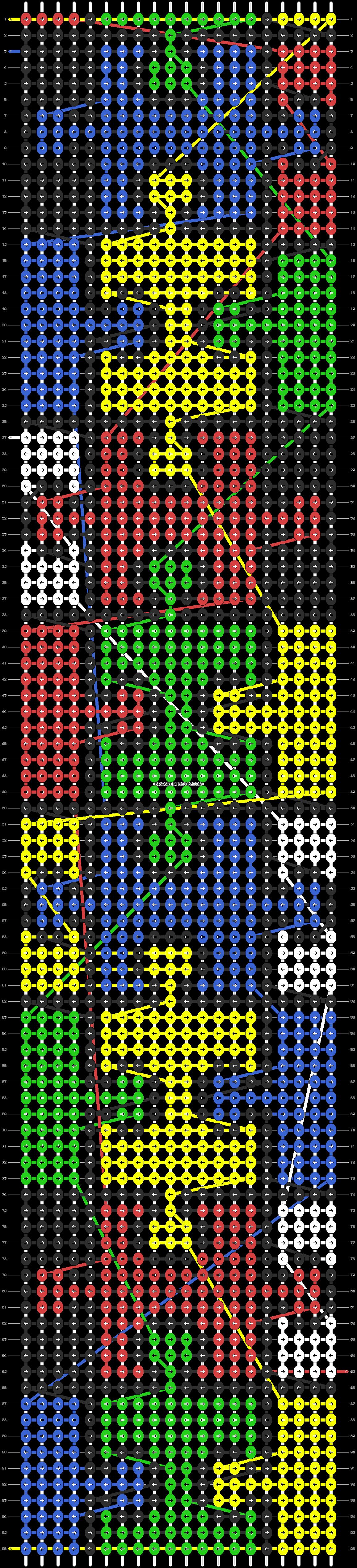 Alpha pattern #11529 pattern