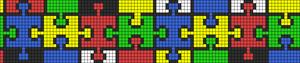Alpha Friendship Bracelet Pattern #11529