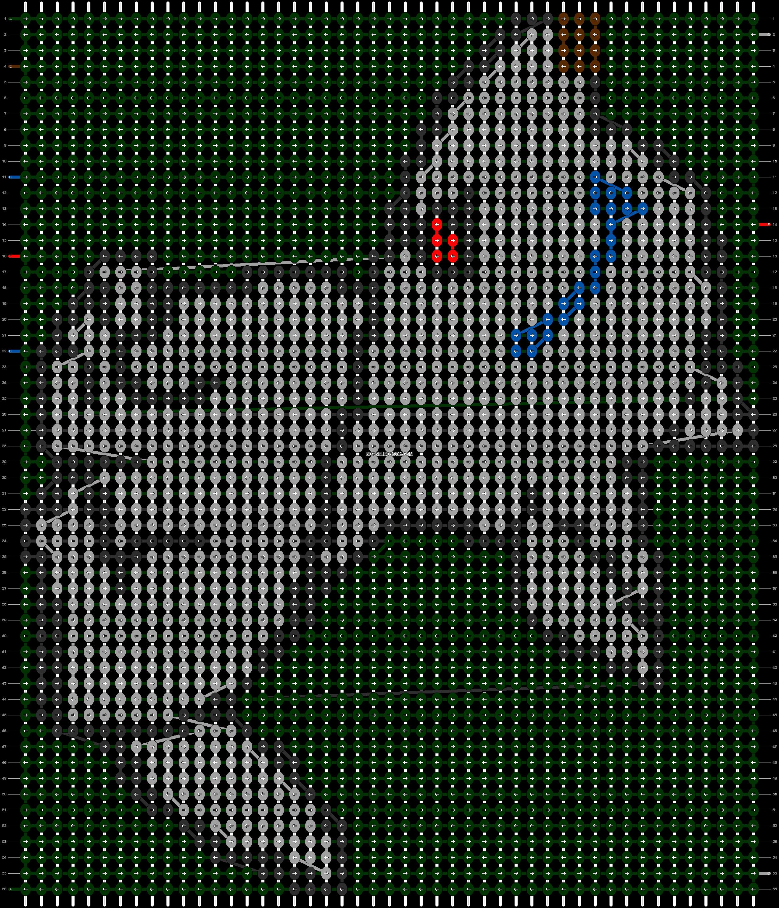 Alpha pattern #11531 pattern