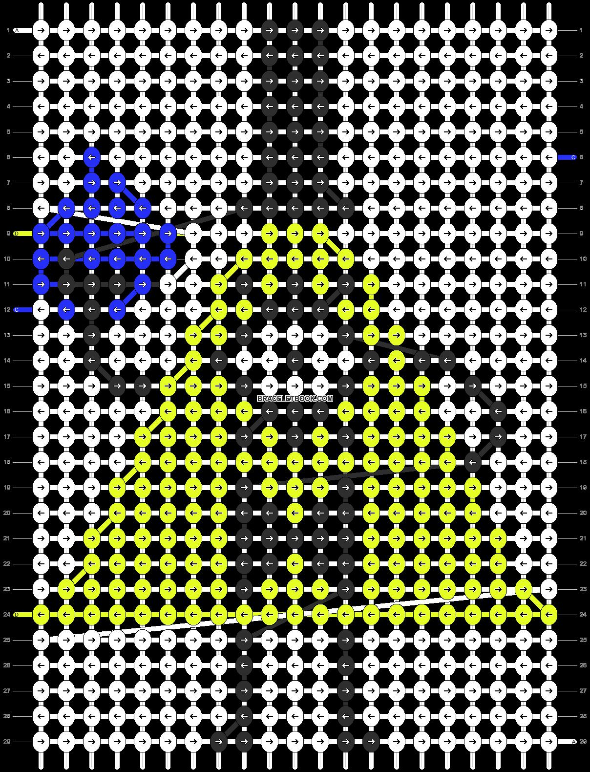 Alpha pattern #11535 pattern