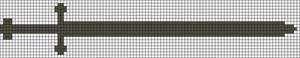 Alpha Friendship Bracelet Pattern #11537
