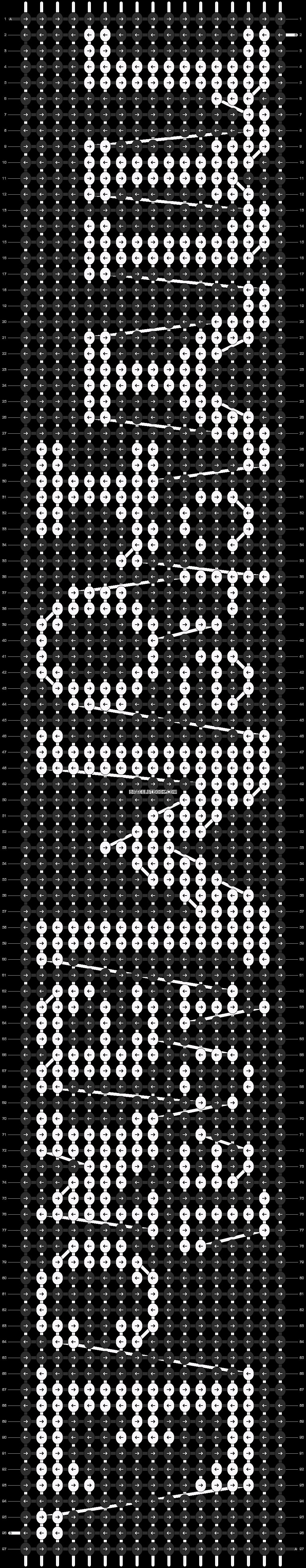Alpha pattern #11543 pattern