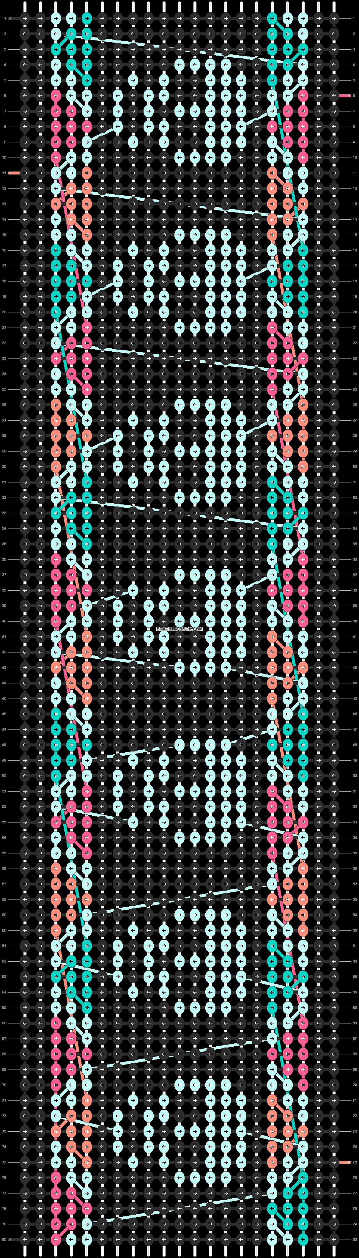 Alpha pattern #11544 pattern