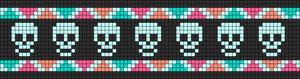 Alpha Friendship Bracelet Pattern #11544