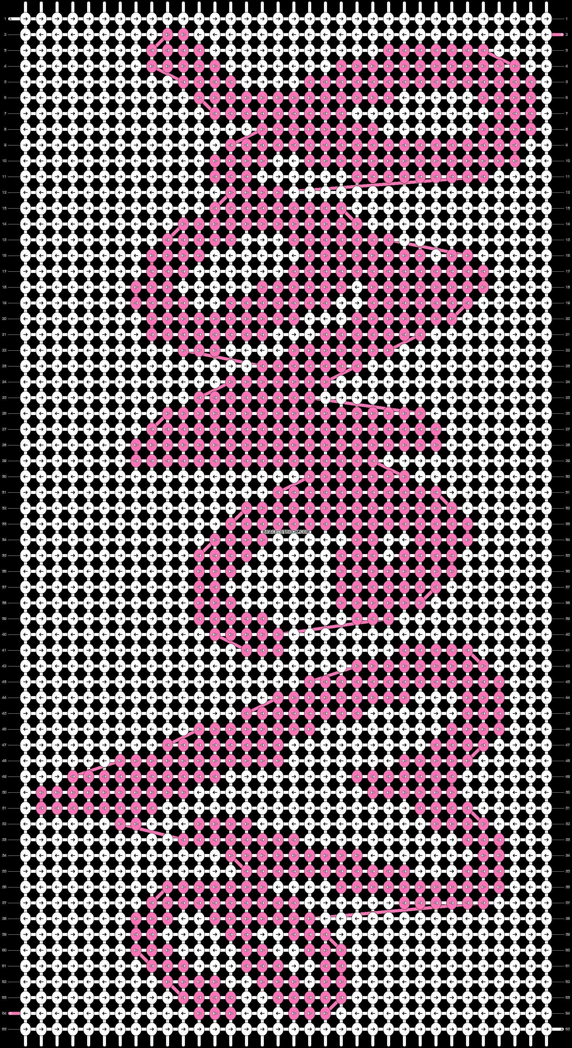 Alpha pattern #11545 pattern