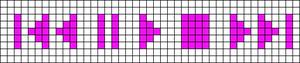 Alpha Friendship Bracelet Pattern #11550