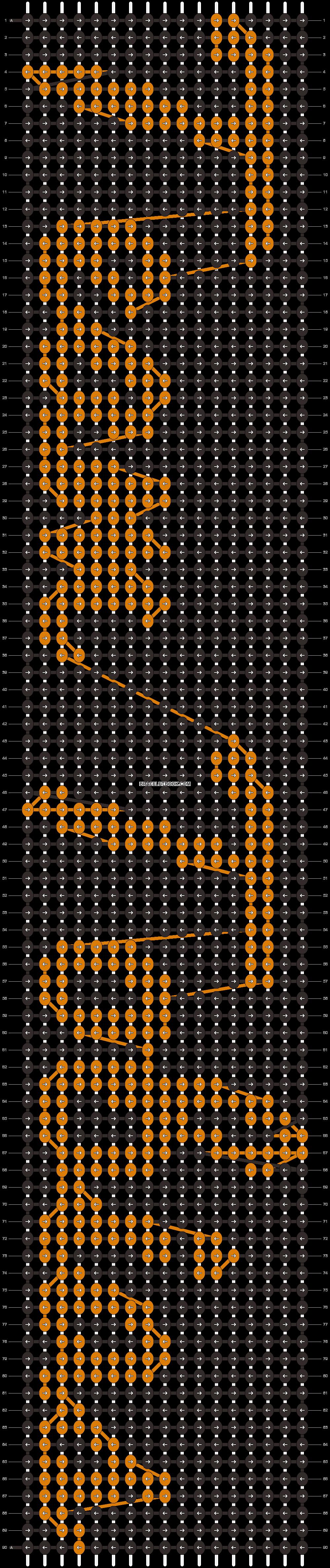 Alpha pattern #11551 pattern