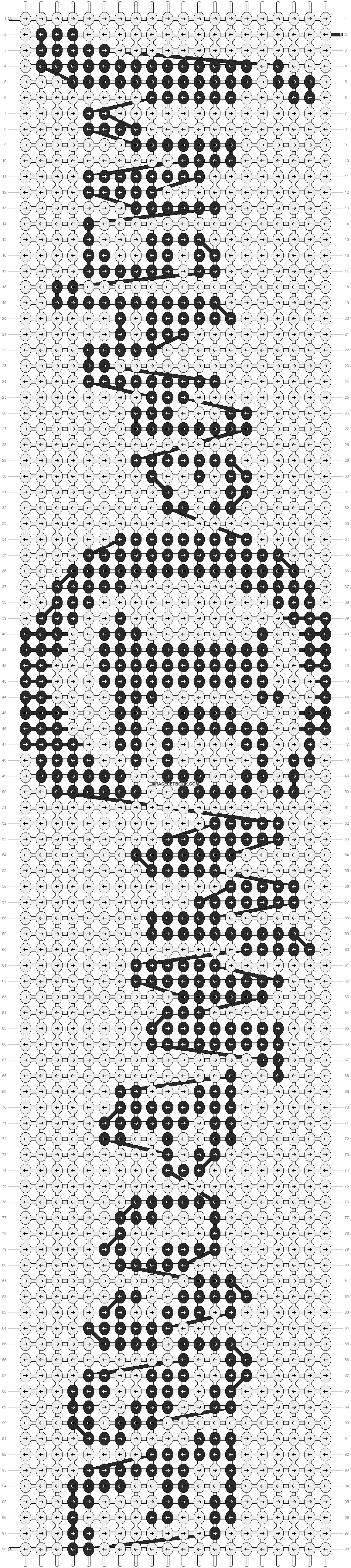 Alpha pattern #11565 pattern