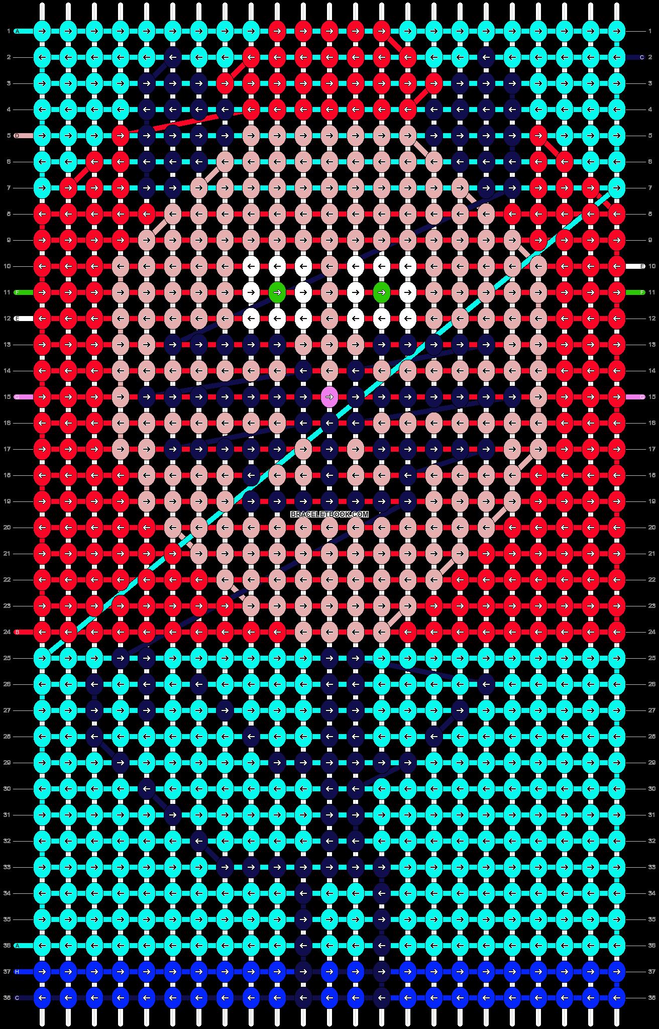 Alpha pattern #11567 pattern