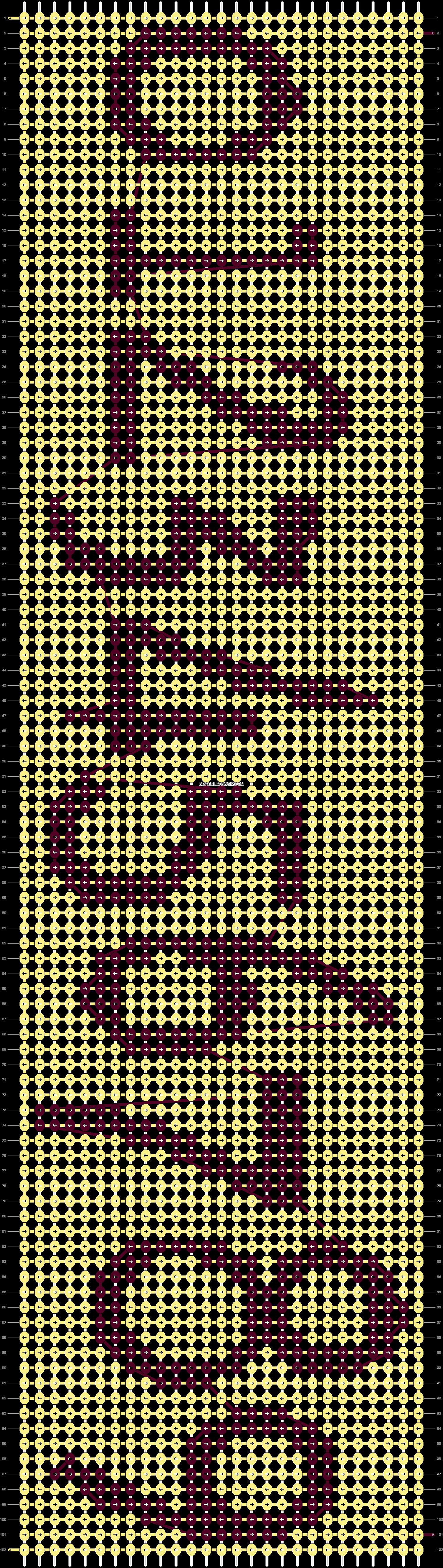 Alpha pattern #11570 pattern