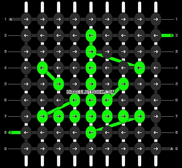 Alpha pattern #11573 pattern