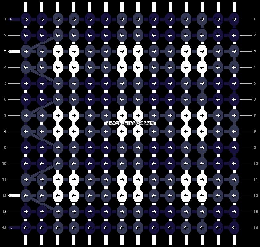 Alpha pattern #11574 pattern