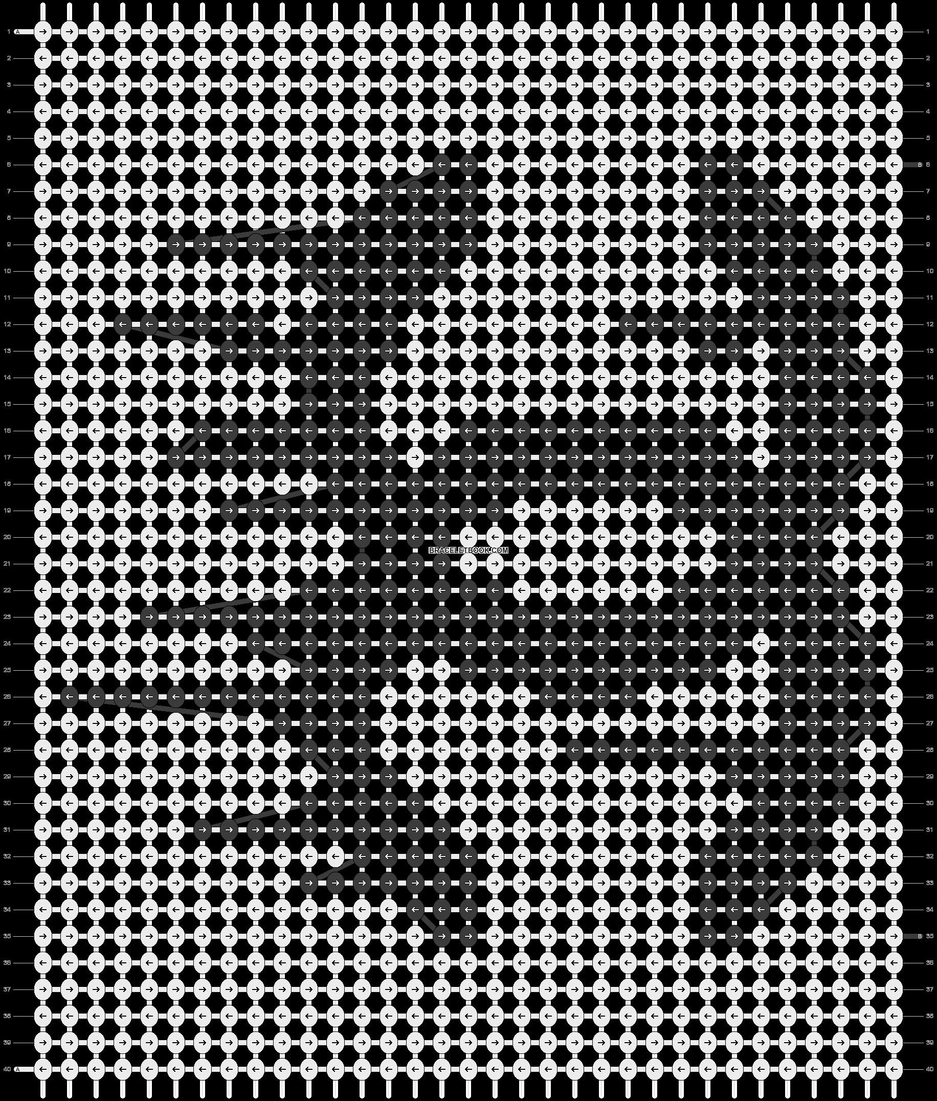 Alpha pattern #11589 pattern