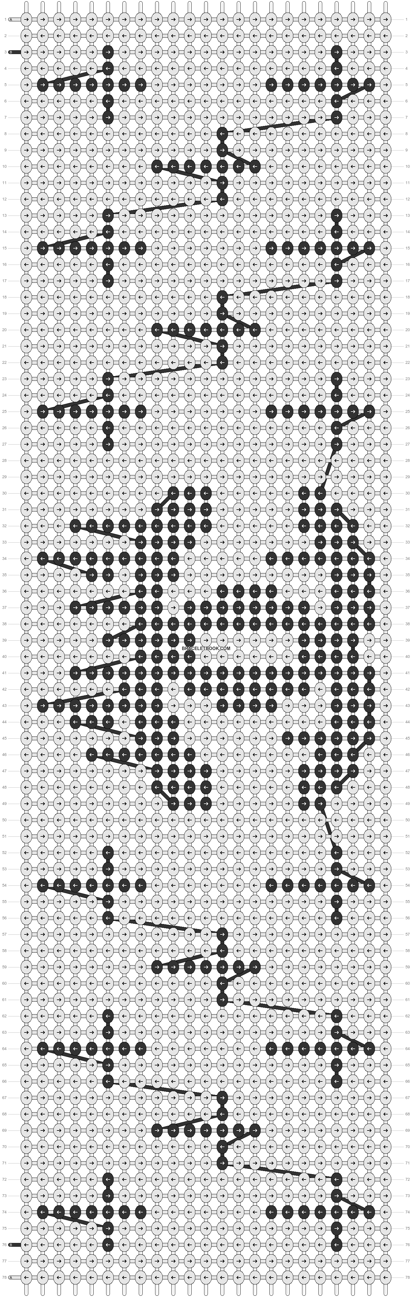 Alpha pattern #11598 pattern