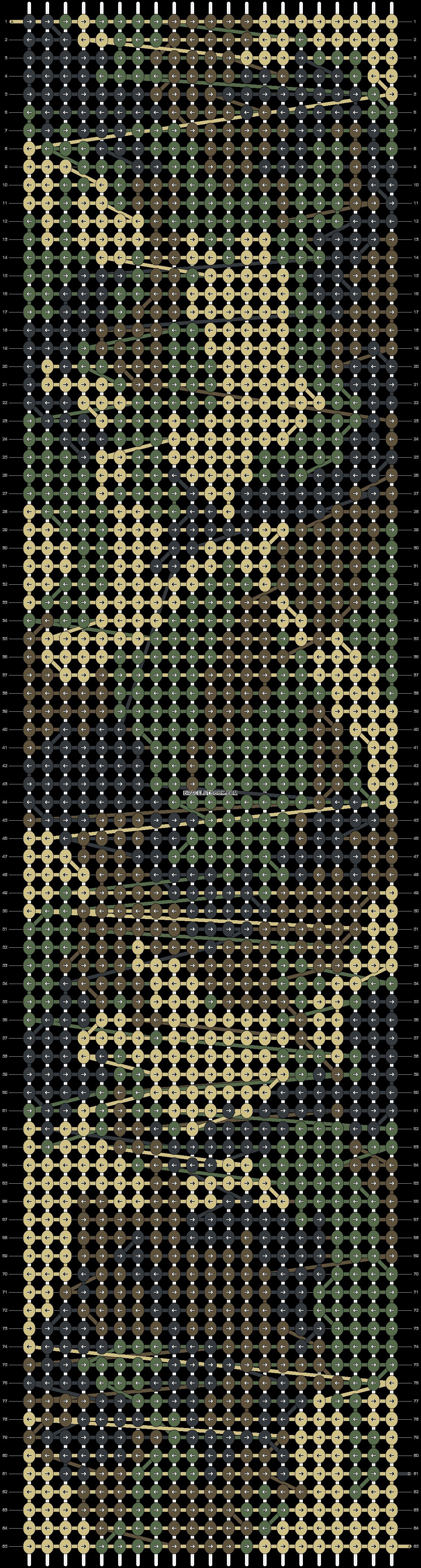 Alpha pattern #11602 pattern