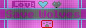 Alpha pattern #11603