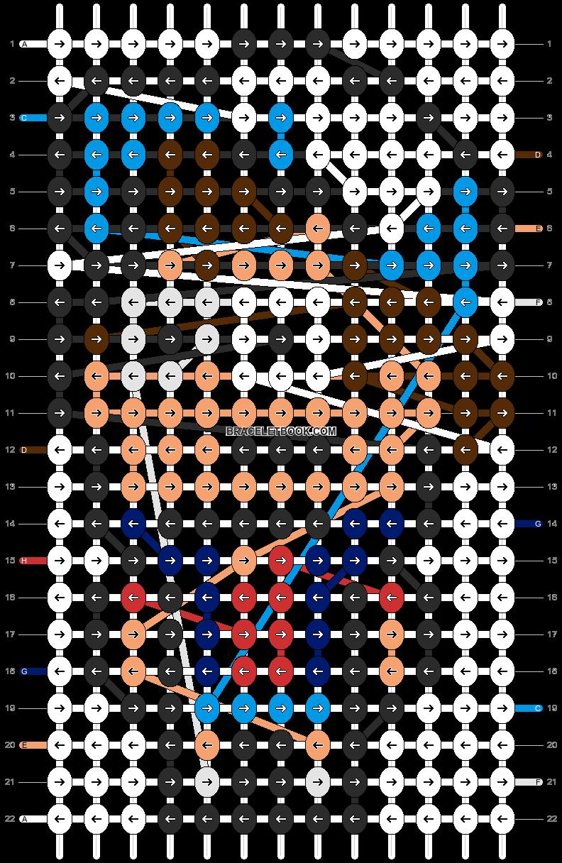 Alpha pattern #11607 pattern