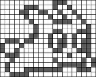 Alpha pattern #11608