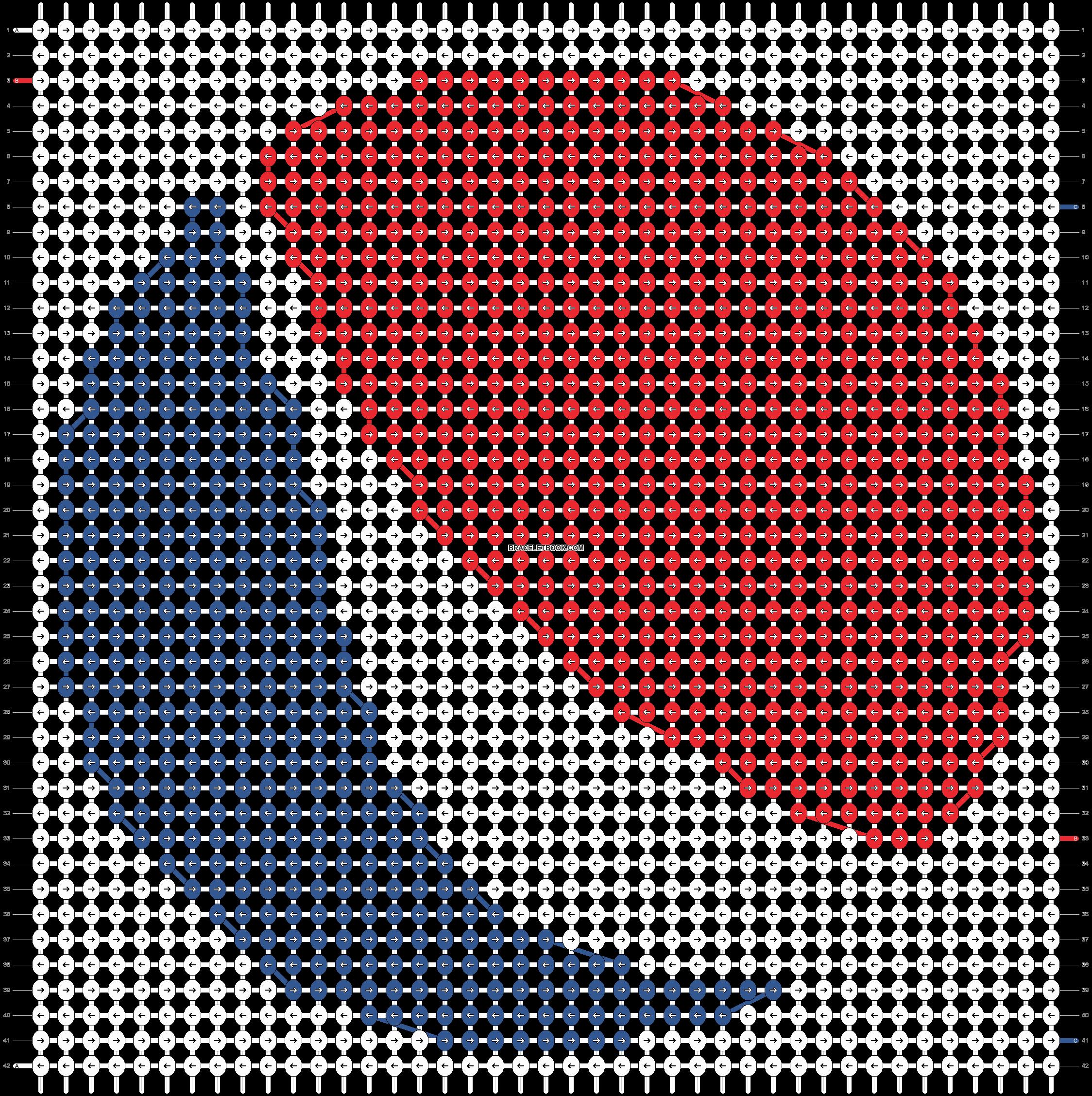 Alpha pattern #11612 pattern
