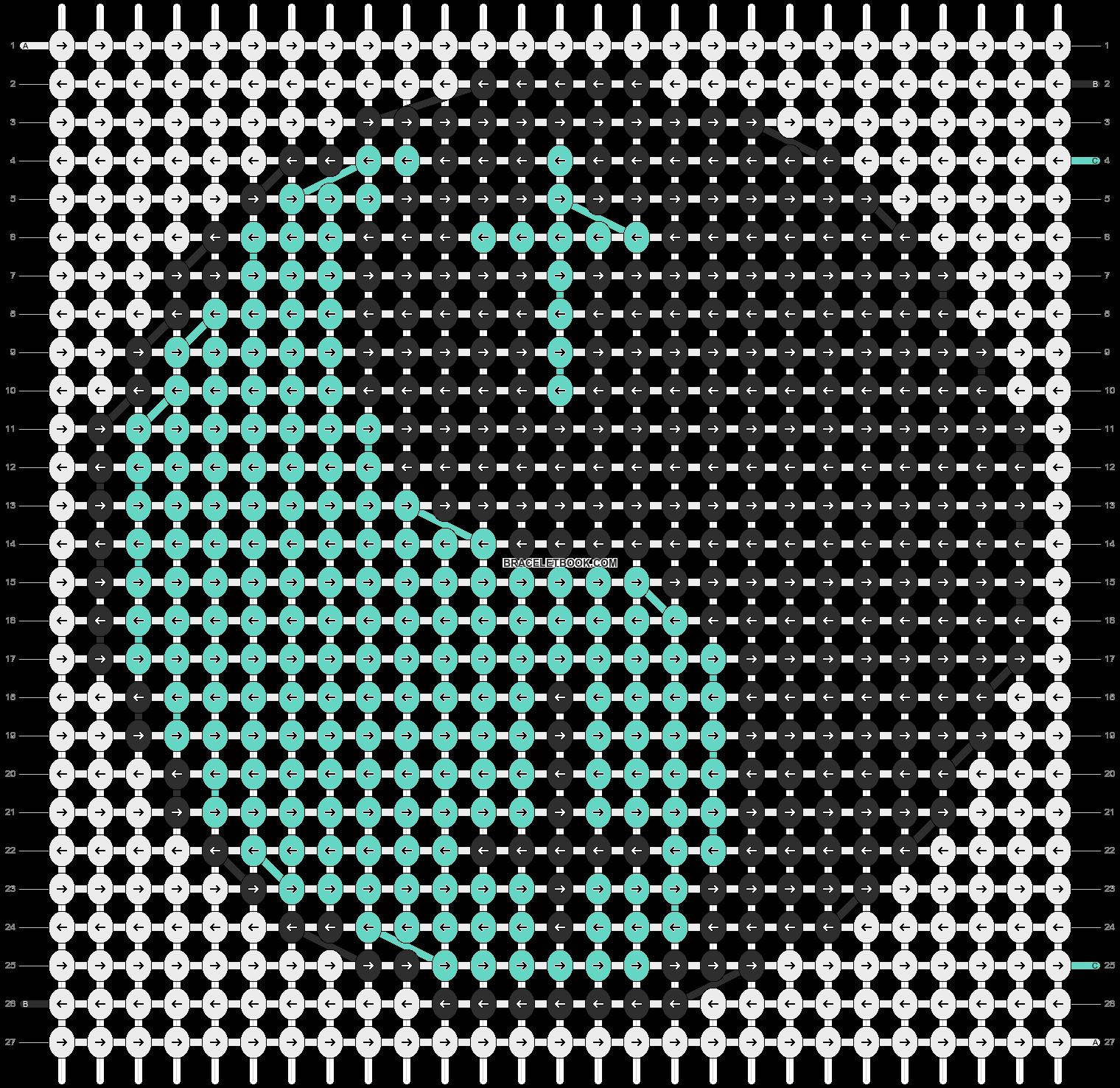 Alpha pattern #11620 pattern