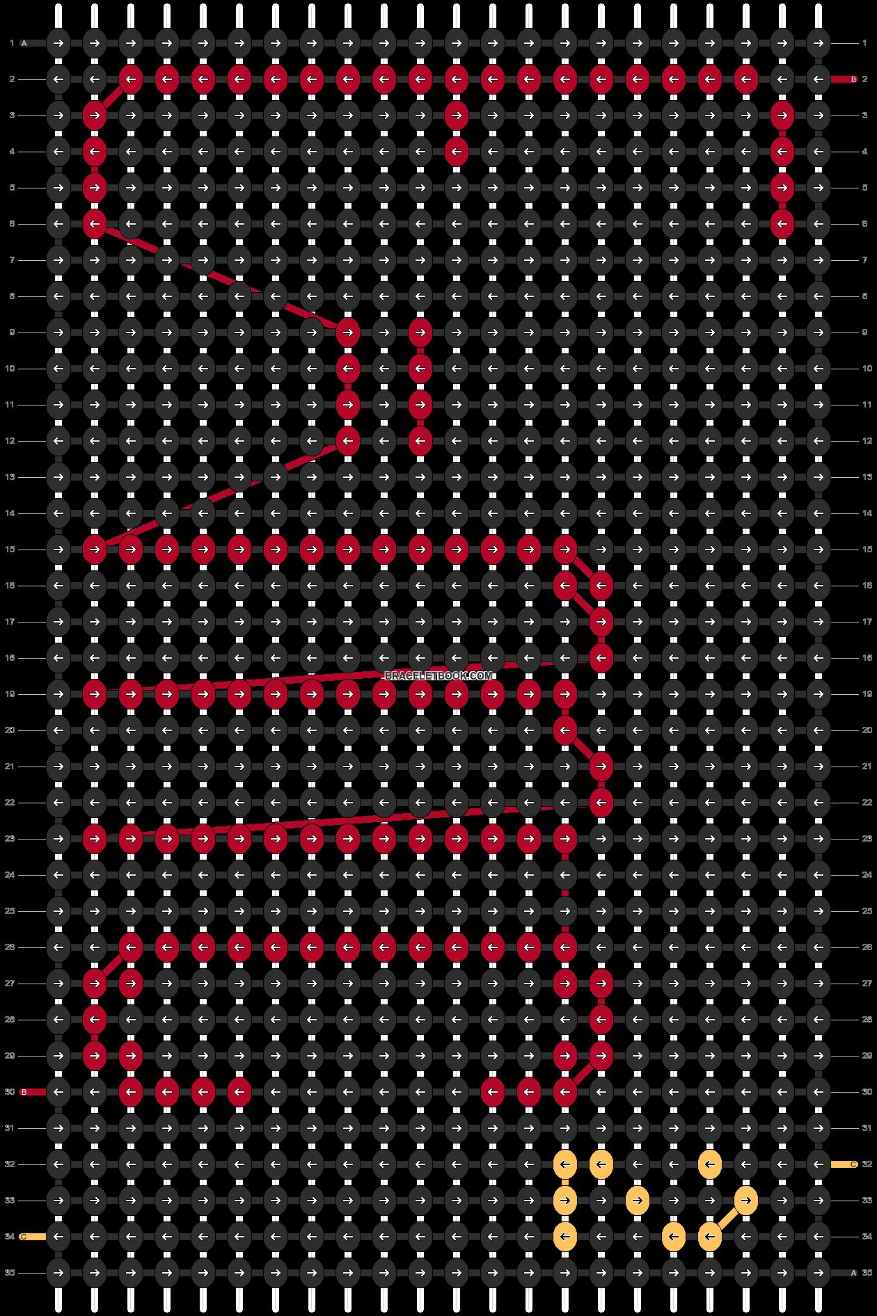Alpha pattern #11624 pattern