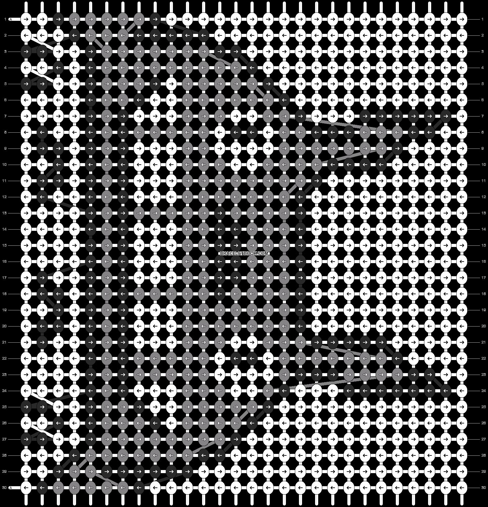 Alpha pattern #11626 pattern