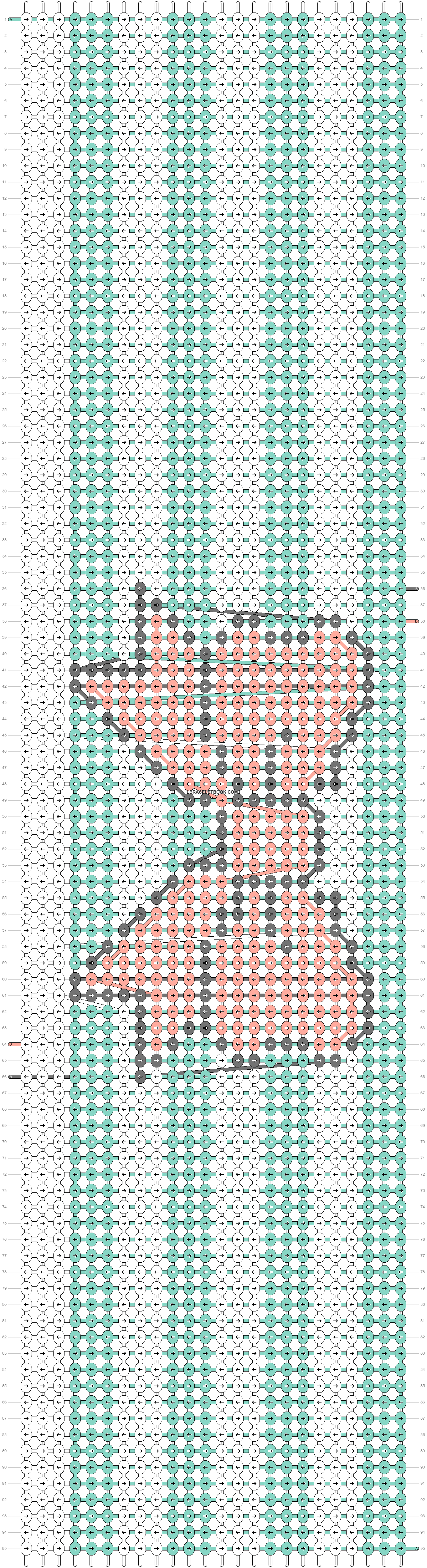 Alpha pattern #11629 pattern
