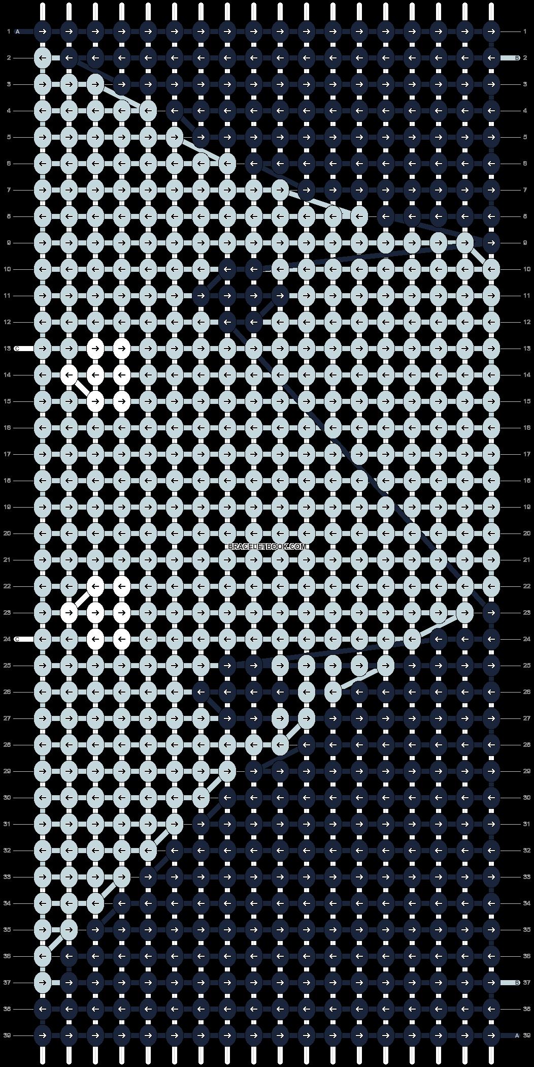 Alpha pattern #11636 pattern