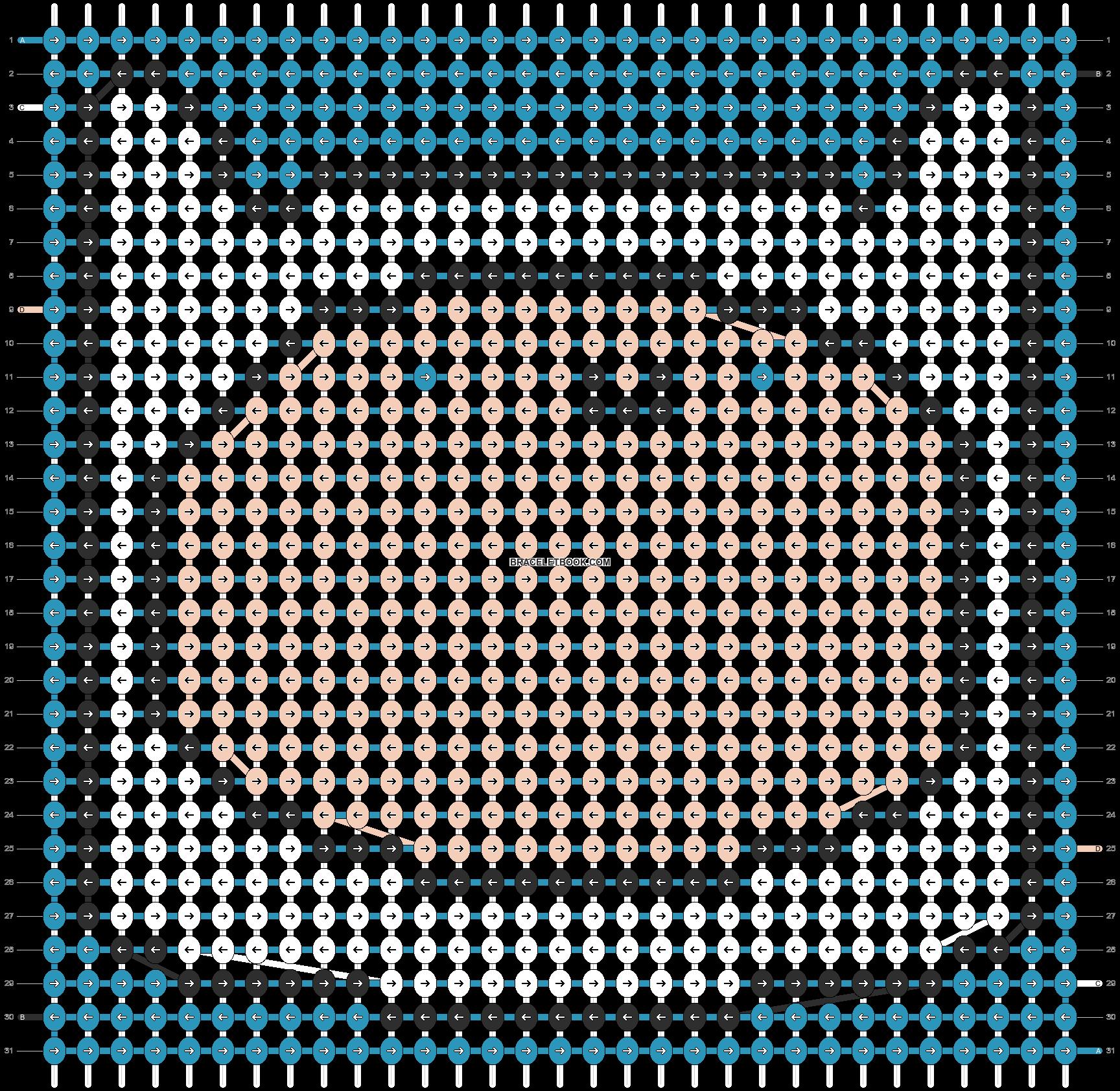 Alpha pattern #11640 pattern