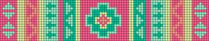 Alpha Friendship Bracelet Pattern #11641