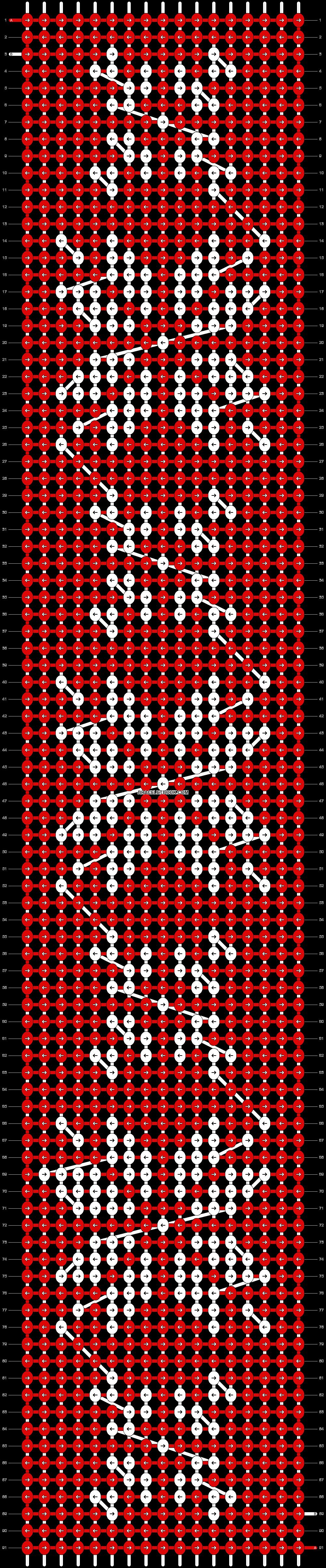 Alpha pattern #11644 pattern