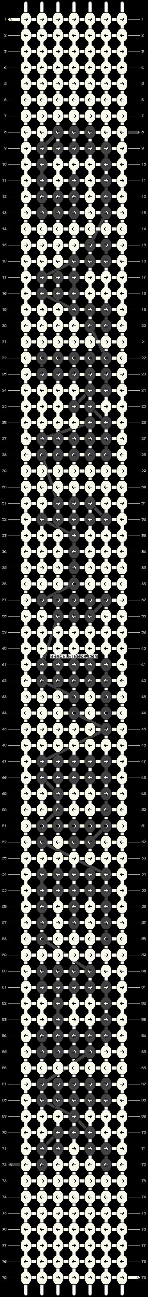Alpha pattern #11646 pattern