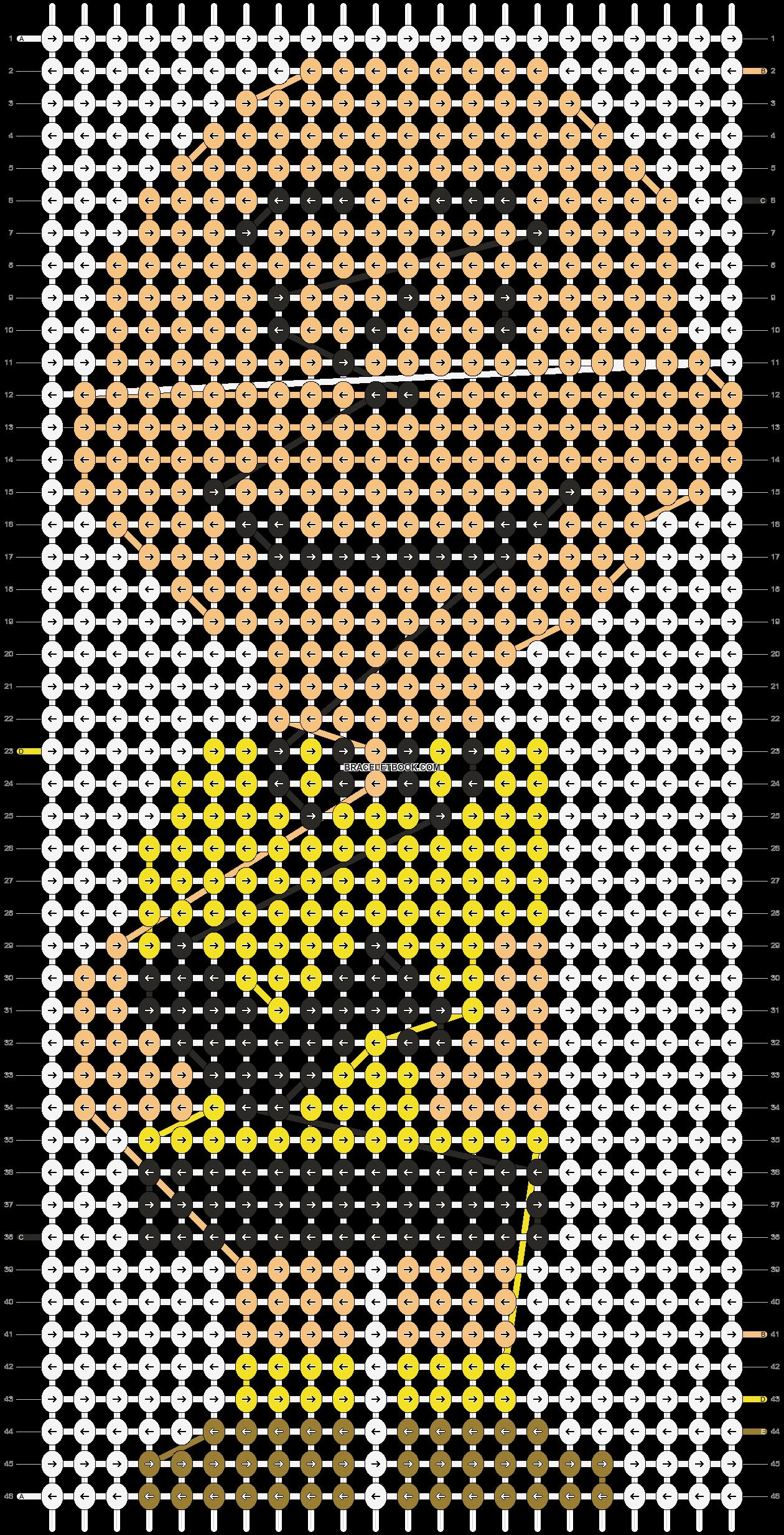 Alpha pattern #11650 pattern