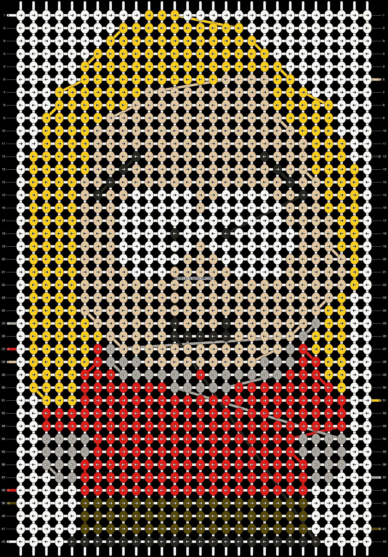 Alpha pattern #11651 pattern