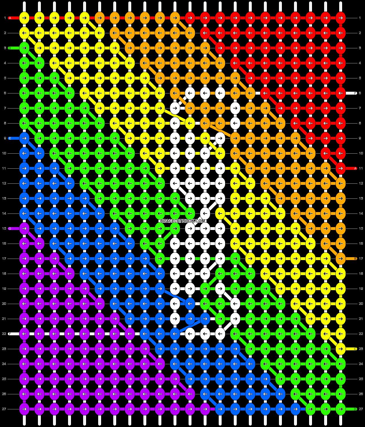 Alpha pattern #11652 pattern
