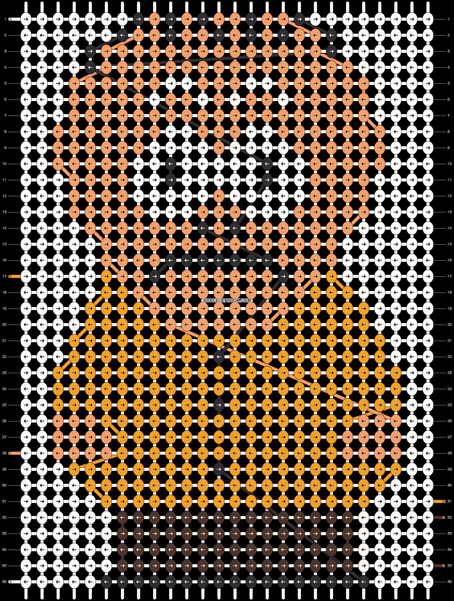 Alpha pattern #11655 pattern
