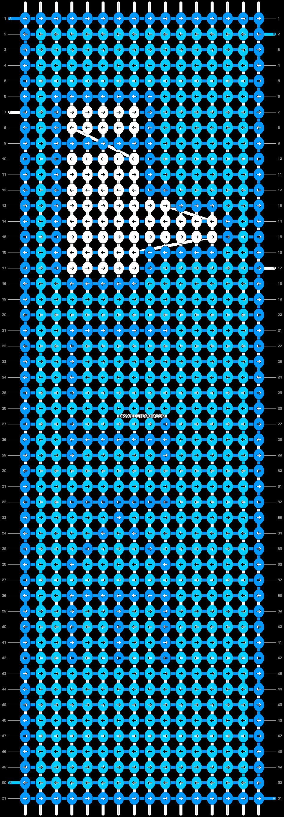 Alpha pattern #11665 pattern