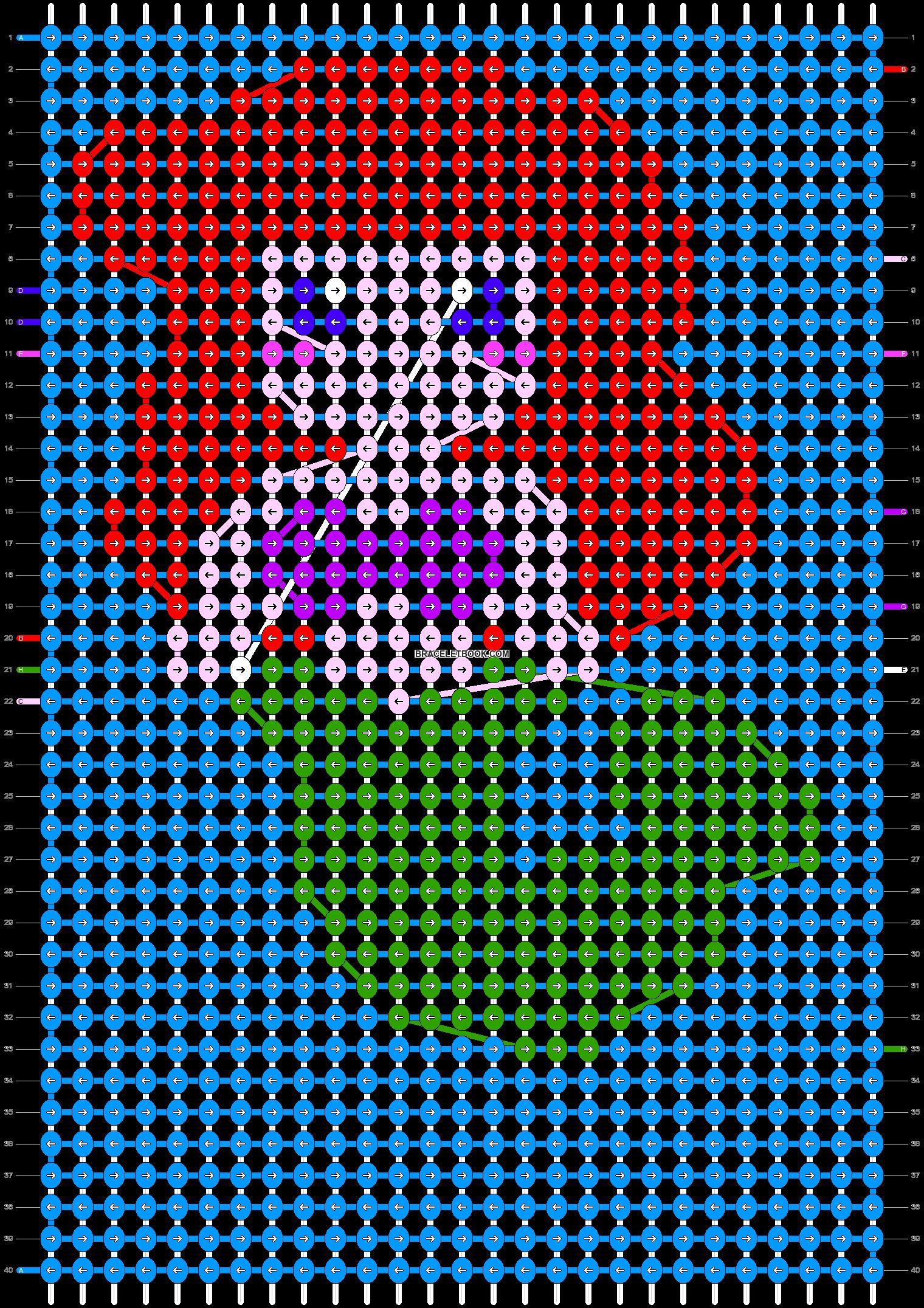 Alpha pattern #11666 pattern