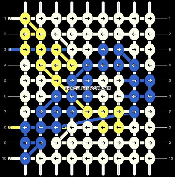 Alpha pattern #11669 pattern