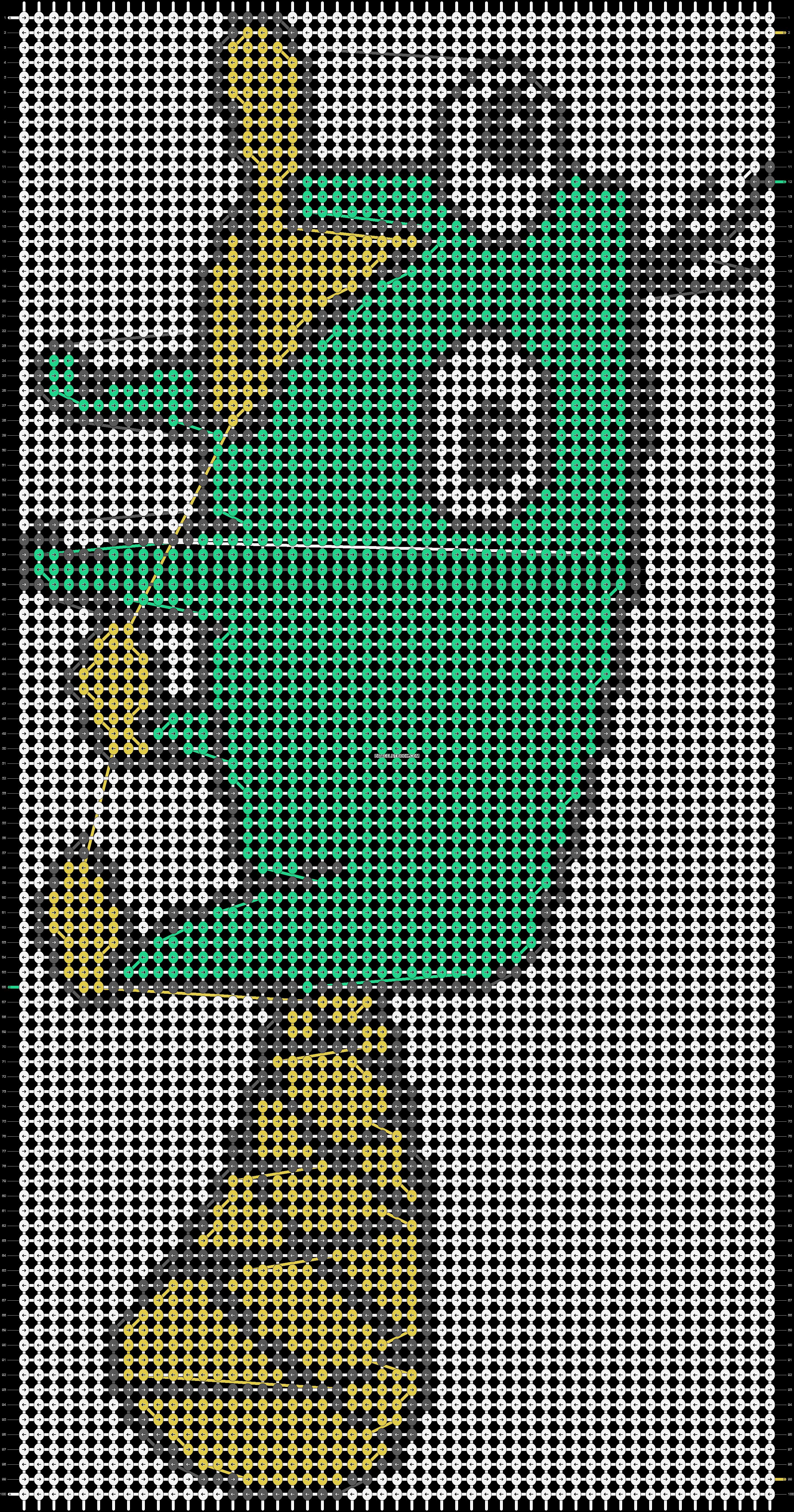 Alpha pattern #11674 pattern