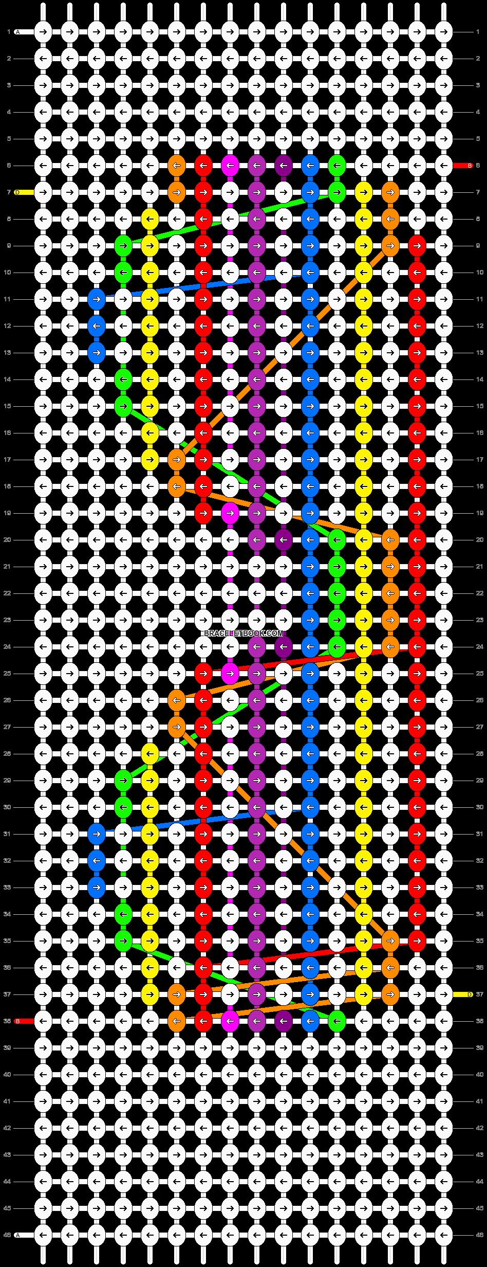 Alpha pattern #11676 pattern