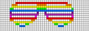 Alpha pattern #11676