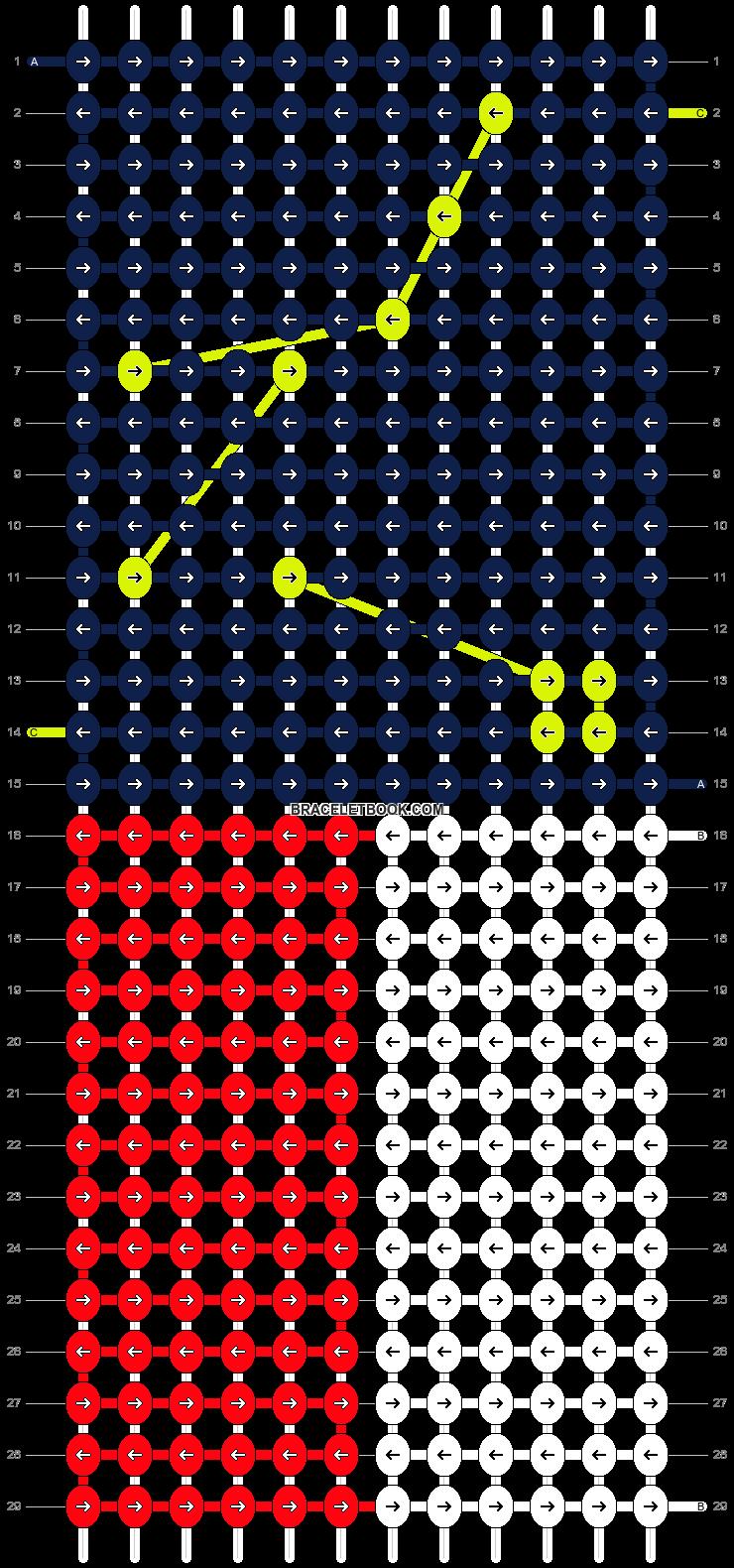 Alpha pattern #11681 pattern