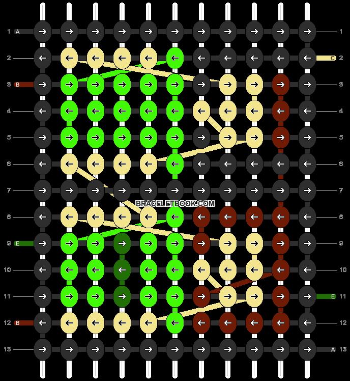 Alpha pattern #11684 pattern