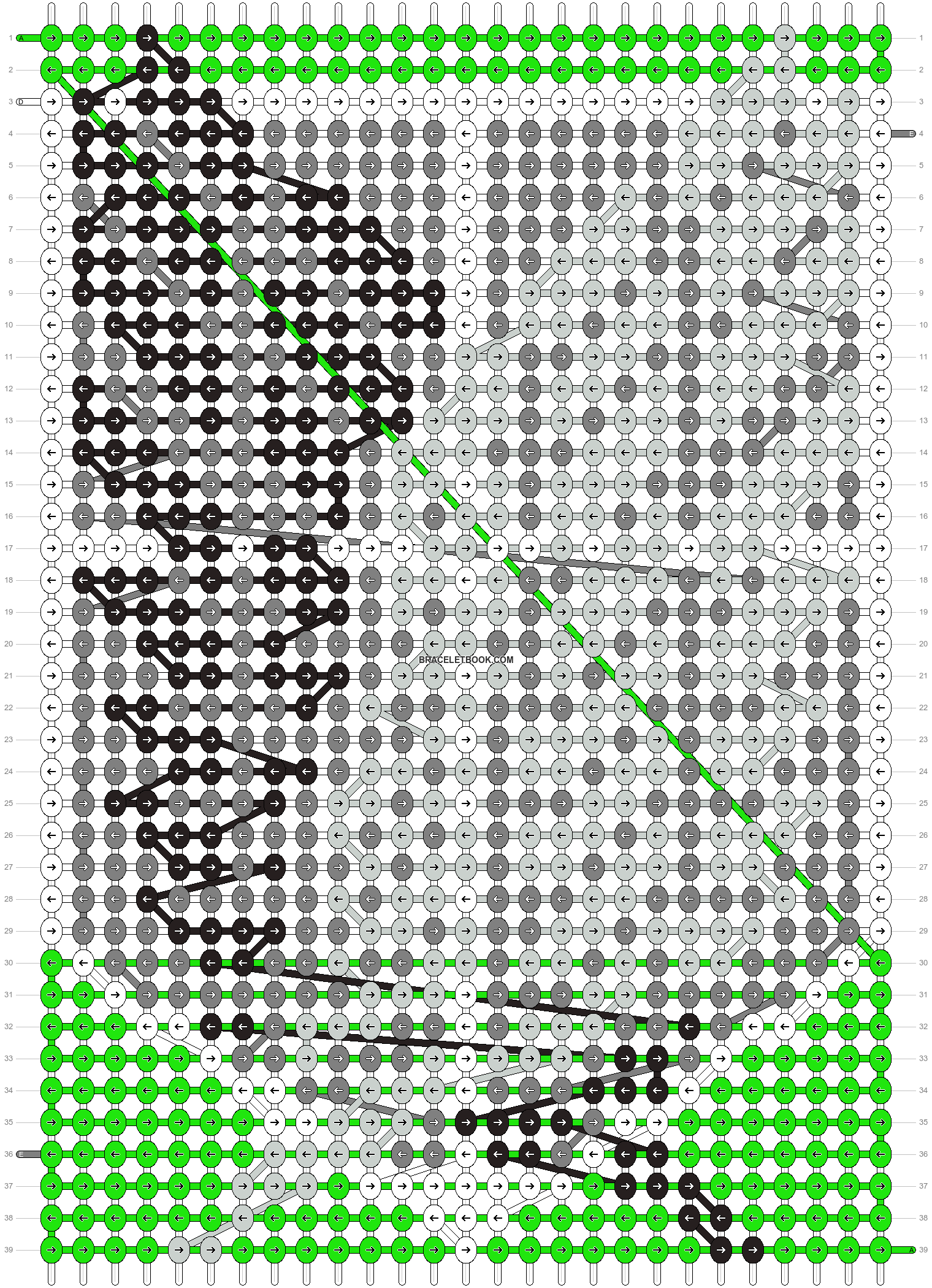 Alpha pattern #11685 pattern