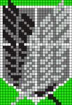 Alpha Friendship Bracelet Pattern #11685