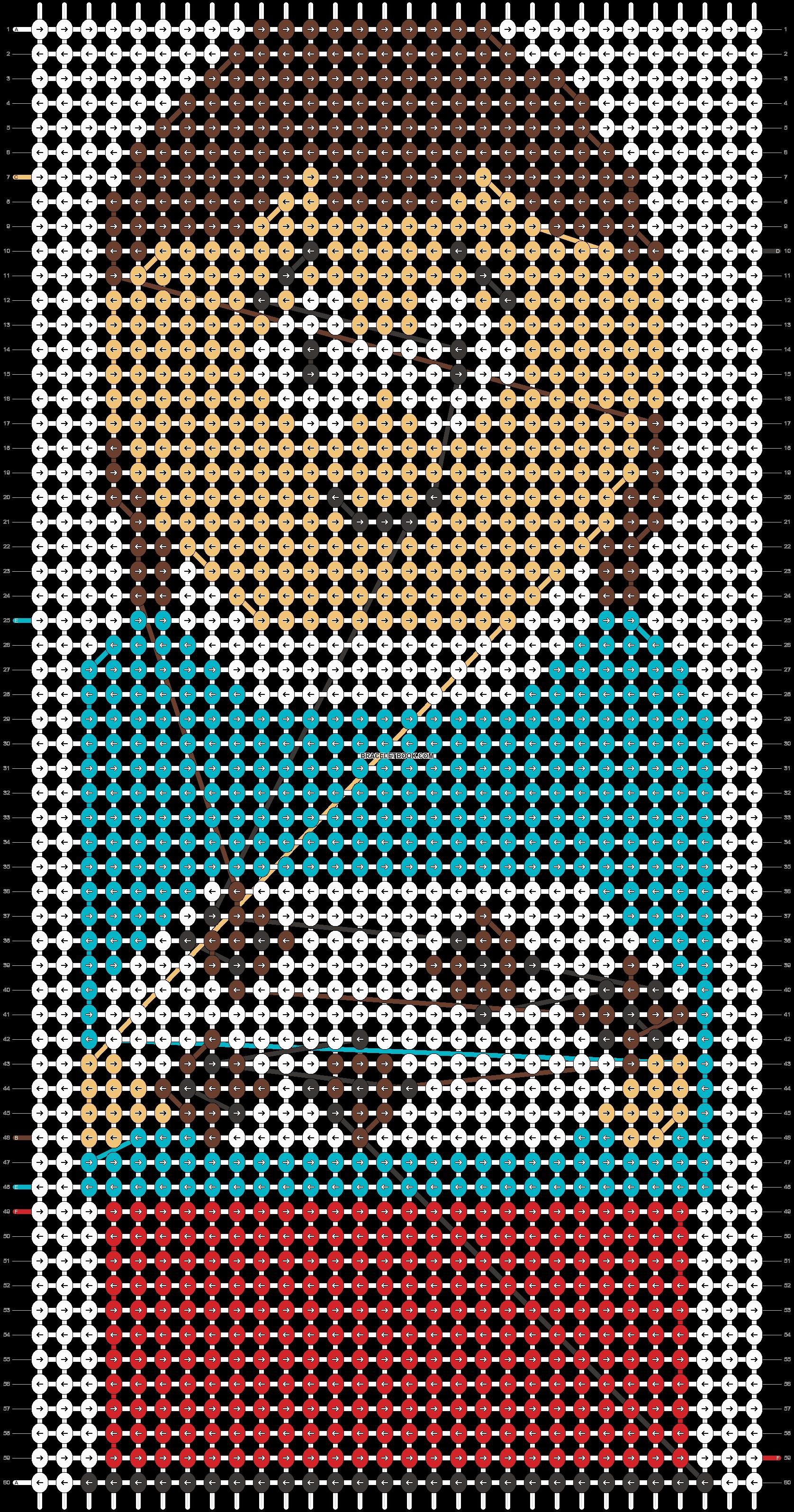 Alpha pattern #11689 pattern