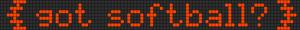 Alpha Friendship Bracelet Pattern #11693